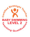 Birthlight certification baby swimming