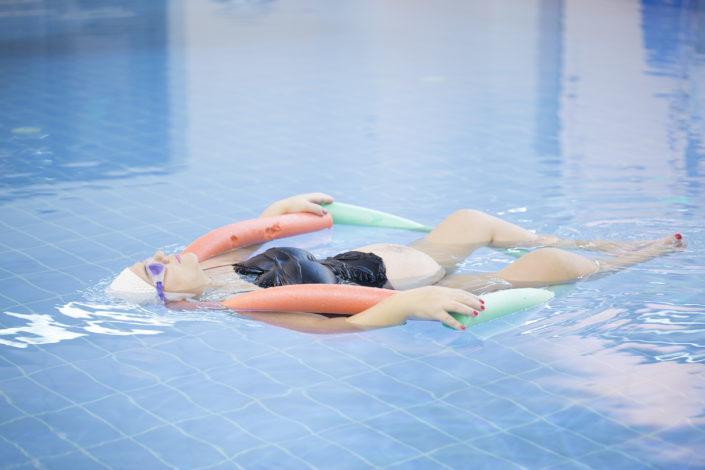 Πισίνα για εγκύους με όζον στη Euromedica - Αρωγή από τους Ιχθείς Aqua Club - Baby Swimming Thessaloniki