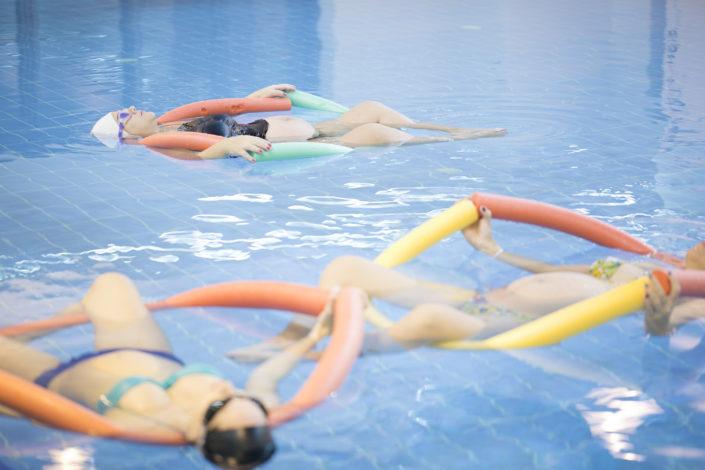 γιόγκα για εγκύους στο νερό από τους Ιχθείς Aqua Club - Baby Swimming Thessaloniki