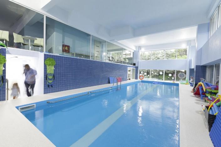 Κολύμβηση στους Ιχθείς Aqua Club Καλαμαριά - Baby Swimming Thessaloniki