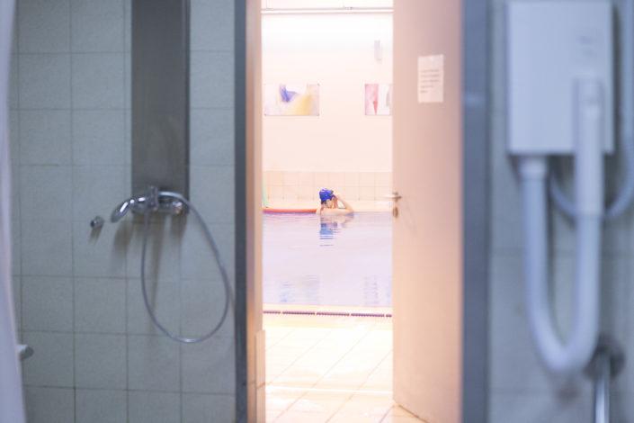 Ιχθείς Aqua Club EUROMEDICA - Αρωγή! Μάθημα Κολύμβησης για παιδιά στην καλύτερη πισίνα της Θεσσαλονίκης - Τα αποδυτήρια - ακαδημίες κολύμβησης