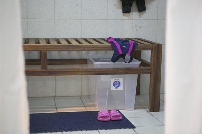 Ιχθείς Aqua Club EUROMEDICA - Αρωγή! Κολυμβητήριο για παιδιά στην καλύτερη πισίνα της Θεσσαλονίκης - Τα αποδυτήρια