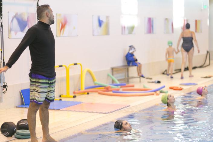 Ασκήσεις κολύμβησης για ενήλικες από τους Ιχθείς Aqua Club - Baby Swimming Thessaloniki