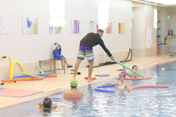 Το πιο καθαρό κολυμβητήριο στη Θεσσαλονίκη στη Euromedica - Αρωγή από τους Ιχθείς Aqua Club - Baby Swimming Thessaloniki