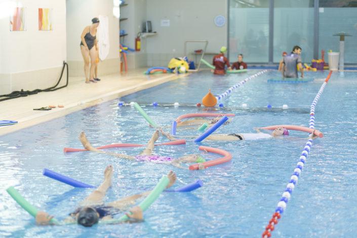 Μαθήματα κολύμβησης για αρχάριους από τους Ιχθείς Aqua Club - Baby Swimming Thessaloniki