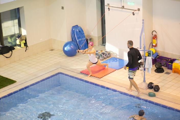 Κολύμβηση ενηλίκων στο κολυμβητήριο της Αρωγής από τους Ιχθείς Aqua Club - Baby Swimming Thessaloniki