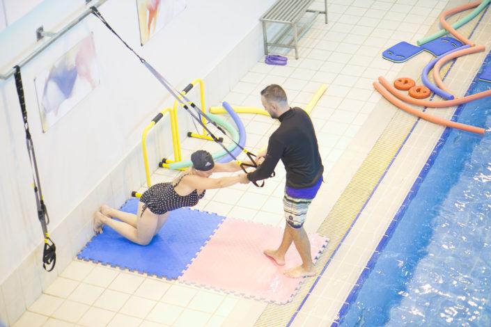 Προγράμματα ενηλίκων στην πισίνα της Αρωγής από τους Ιχθείς Aqua Club - Baby Swimming Thessaloniki