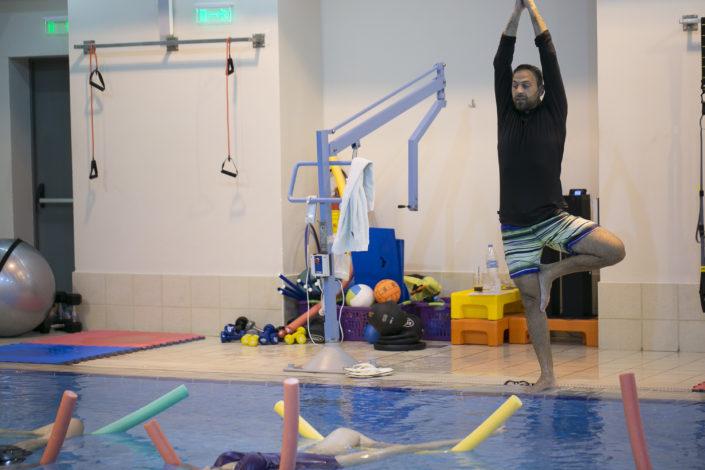 Κολύμβηση για ενήλικες από τους Ιχθείς Aqua Club - Baby Swimming Thessaloniki