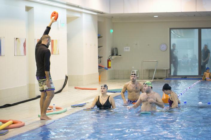 Μαθήματα κολύμβησης για ενήλικες στη Θεσσαλονίκη από τους Ιχθείς Aqua Club - Baby Swimming Thessaloniki