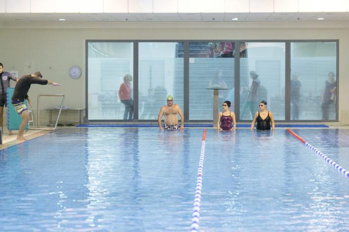 Εκμάθηση κολύμβησης ενηλίκων από τους Ιχθείς Aqua Club - Baby Swimming Thessaloniki