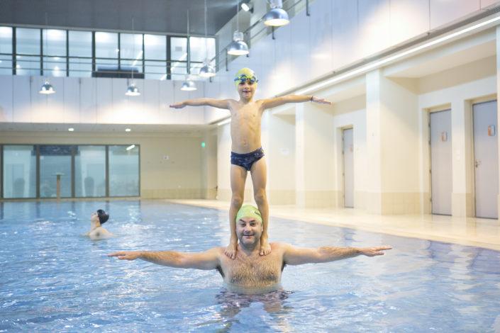 Κολυμβητήριο μαζί με το παιδί μου