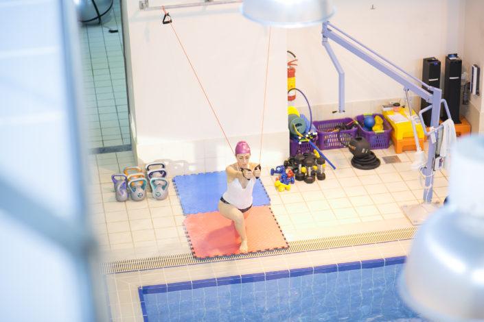 Προγράμματα γυμναστικής στο κολυμβητήριο