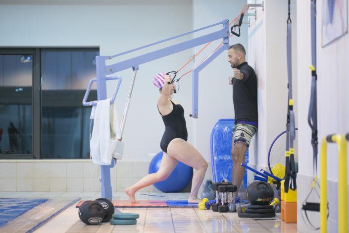 Λειτουργική γυμναστική μέσα και έξω από το νερό