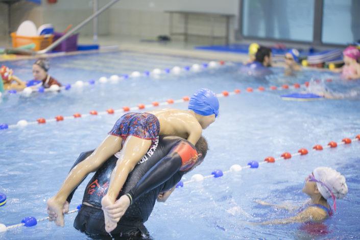 Τμήματα παιδικής κολύμβησης στη Θεσσαλονίκη