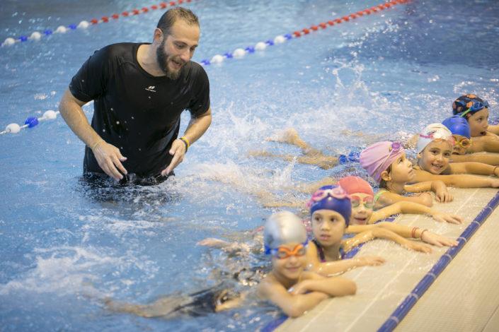 Εκμάθηση κολύμβησης παιδιών στη Θεσσαλονίκη από τους Ιχθείς Aqua Club - Baby Swimming Thessaloniki