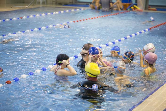 Κολυμβητήρια με όζον στην πισίνα της EUROMEDICA - Αρωγής