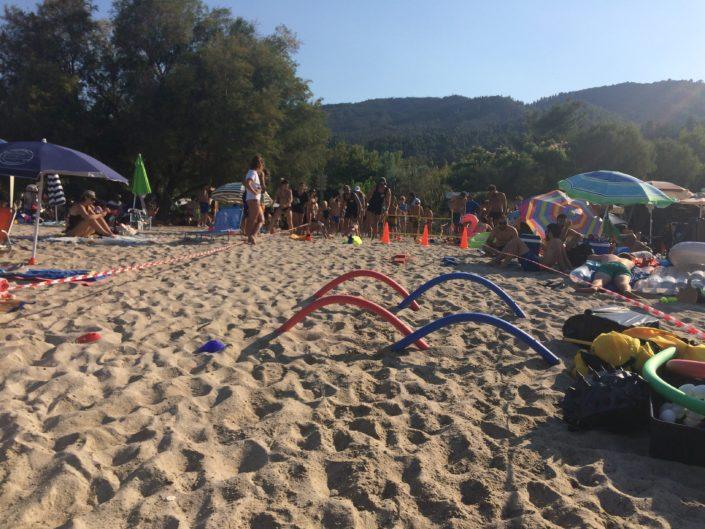 Ιχθείς Summer Camp by the Sea 2018 - αθλοπαιδιές για παιδιά στη θάλασσα - Καλοκαιρινή απασχόληση