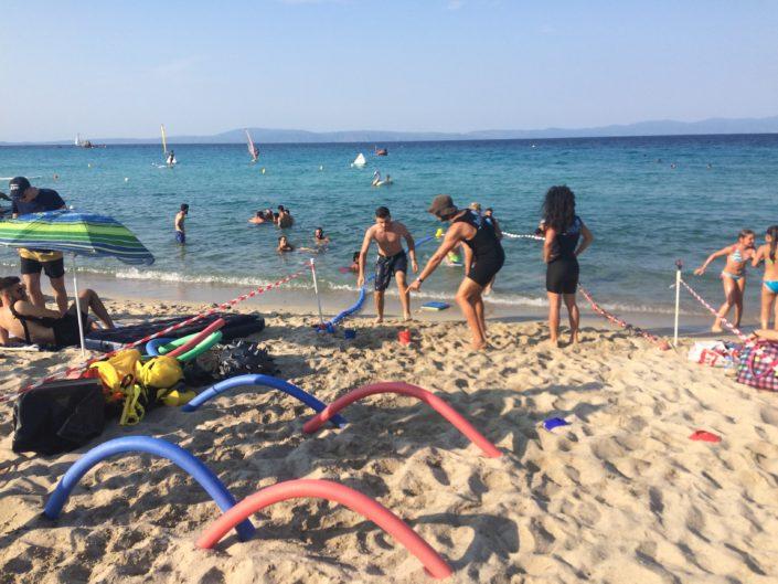 Ιχθείς Summer Camp by the Sea 2018 - ομαδικές δραστηριότητες για παιδιά στη θάλασσα
