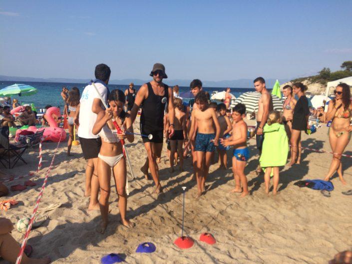 Ιχθείς Summer Camp by the Sea 2018 - ομαδικές δραστηριότητες για παιδιά στη θάλασσα το καλοκαίρι