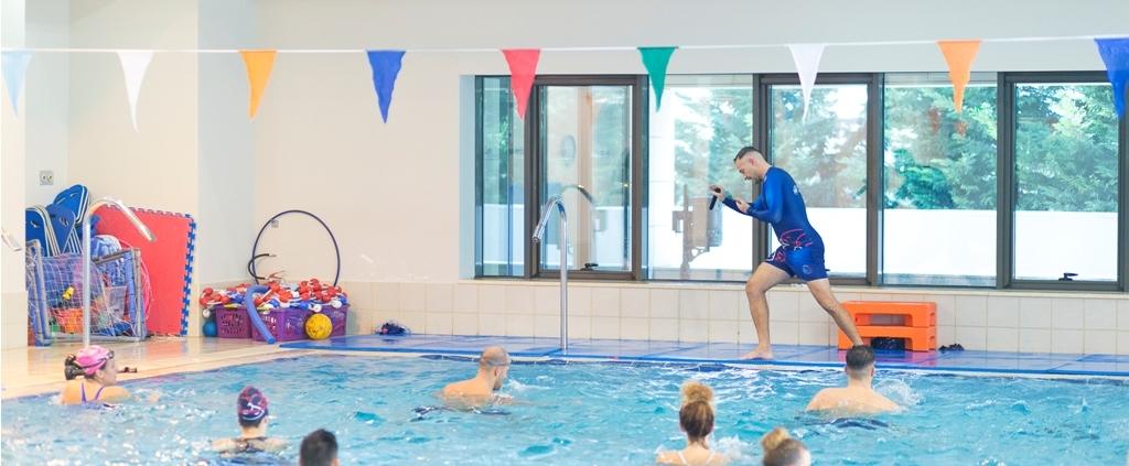 Μαθήματα κολύμβησης για ενήλικες